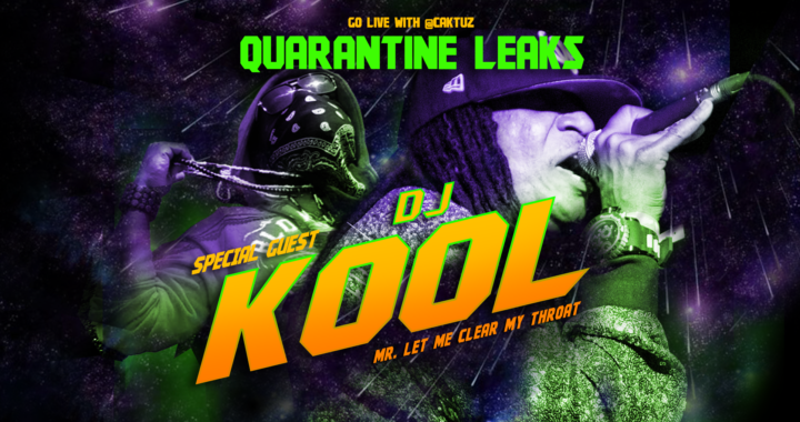 DJ Kool & Caktuz Chop It Up On IG Live